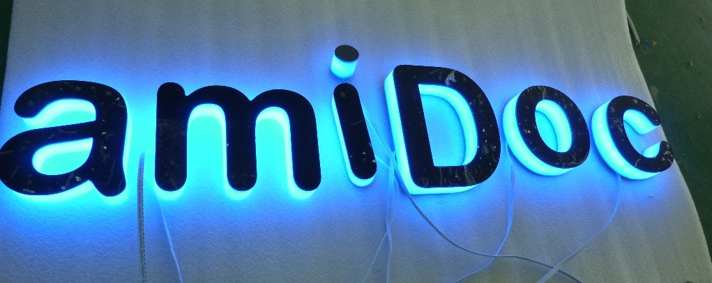 Side lit LED Acrylic Letter | ArcadiaLED